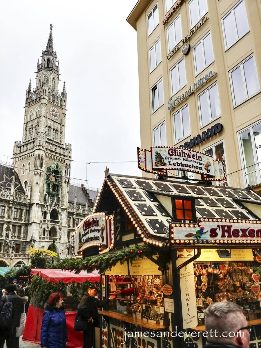 Munich Marienplatz market 2017