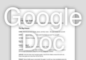 2016 Goal Setting Download - Google Doc