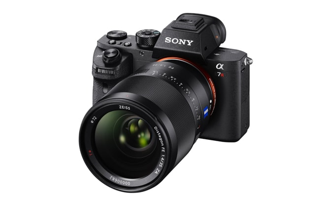 Sony a7RII featuring a backlit sensor