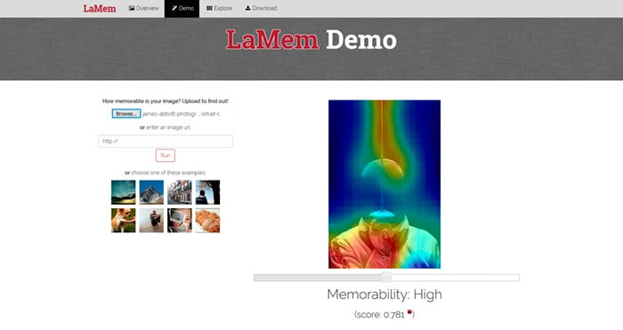 Large-scale Image Memorability (LaMem)