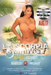 La Scorpia Swimwear Hollywood Launch Party