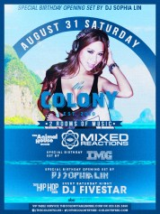 """""""Colony Hollywood LDW 2013 Saturday August 31"""""""