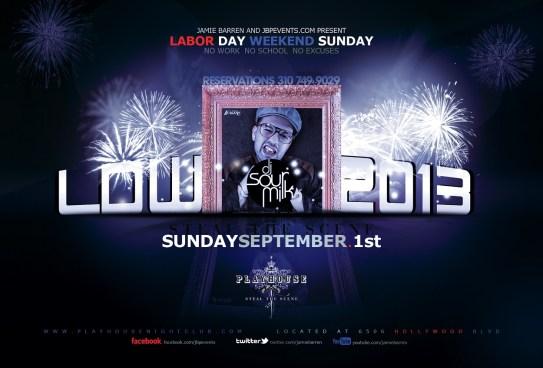 """Playhouse Nightclub Labor Day Sunday"""