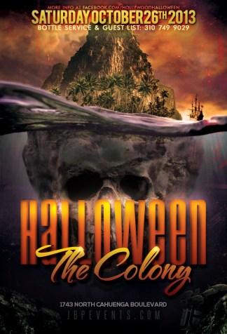 """Colony Hollywood Halloween 2013 October 26"""