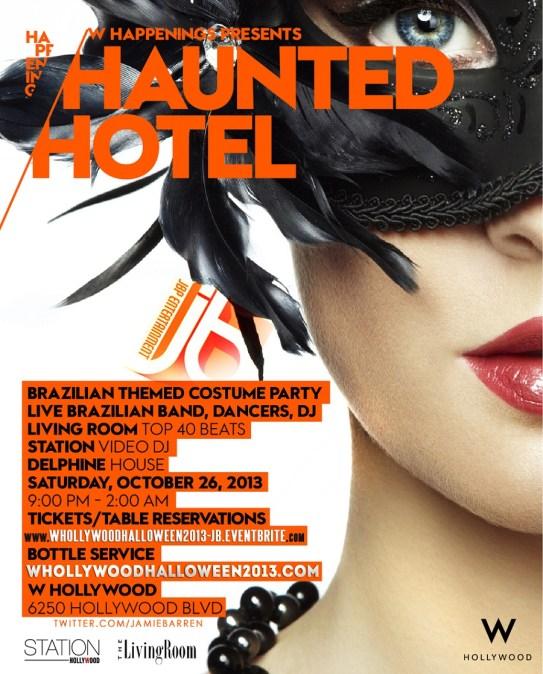 """""""Haunted W Hotel Hollywood 2013"""""""