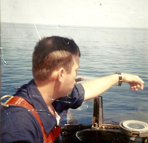 Me as Officer of the Deck on USS Billfish (SSN 676)
