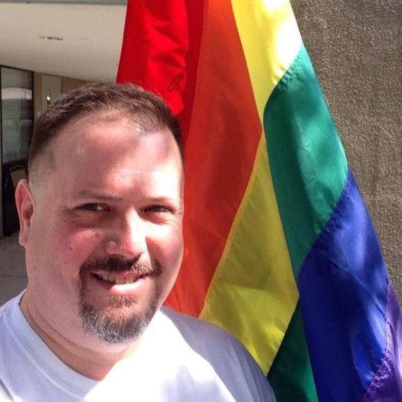 Chalice Christian's Rainbow Flag
