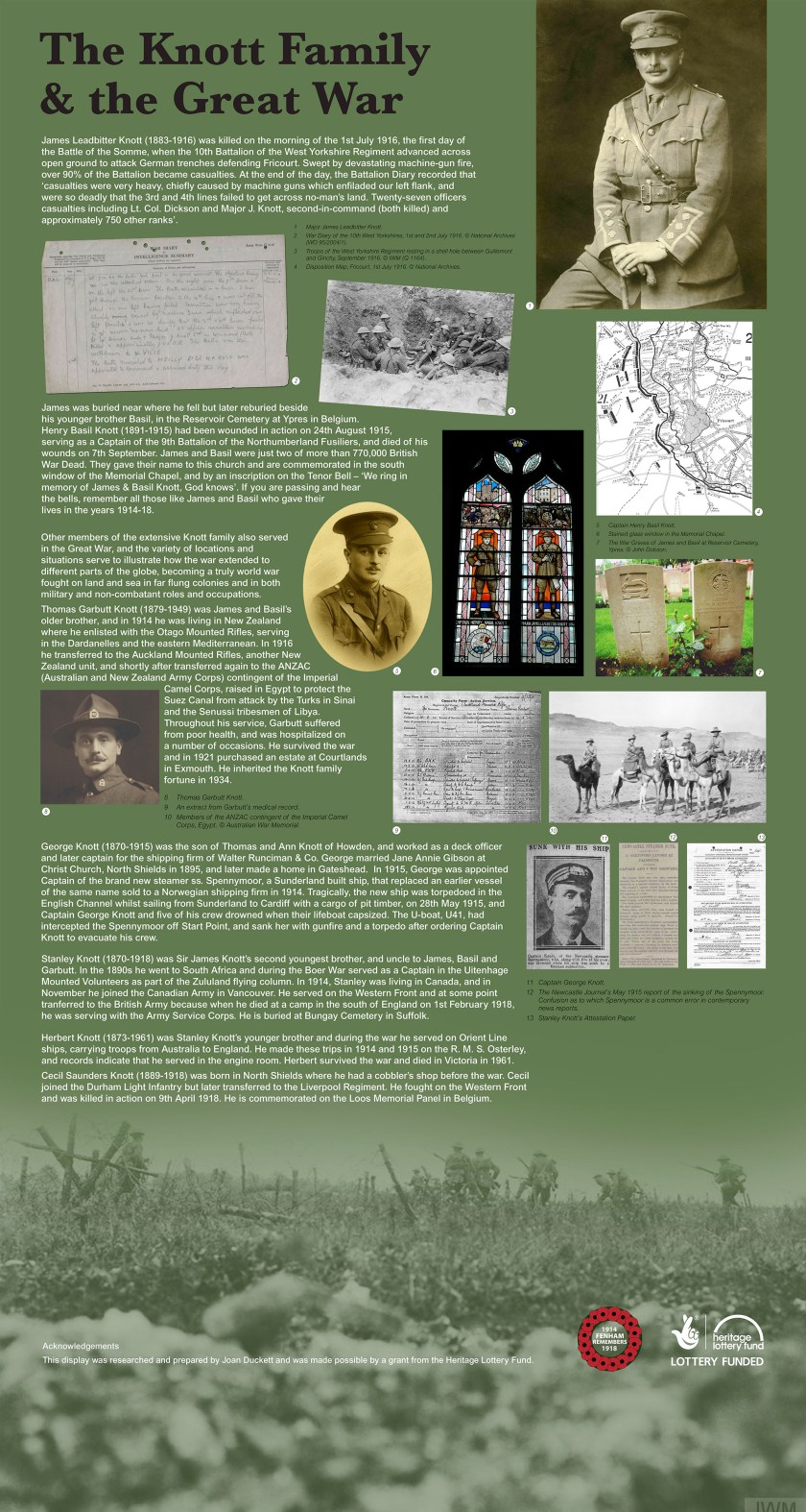 Knott Family and the Great War