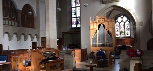 Organs at St. James and St Basils