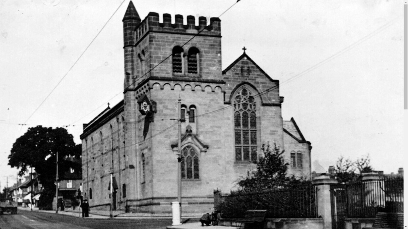 St James and St Basils Church Fenham Black and White