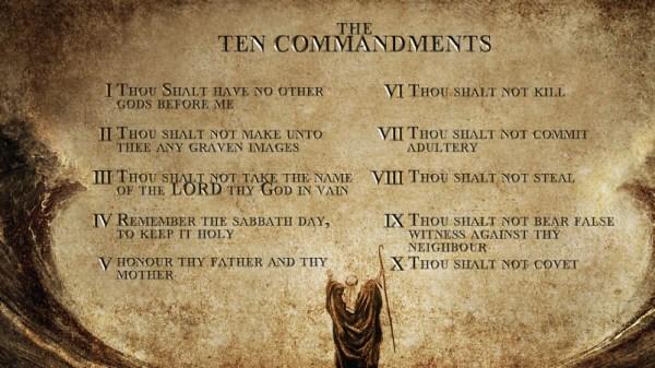10 commandments bible # 16