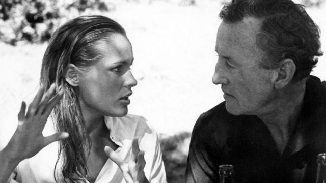 Ursula Andress et Ian Fleming