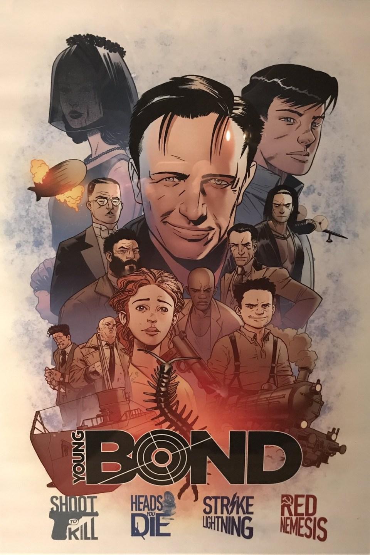 Steve Cole Bond novels