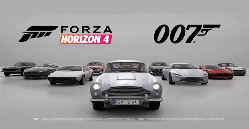 le meilleur de bond dlc de forza horizon 4 club james. Black Bedroom Furniture Sets. Home Design Ideas