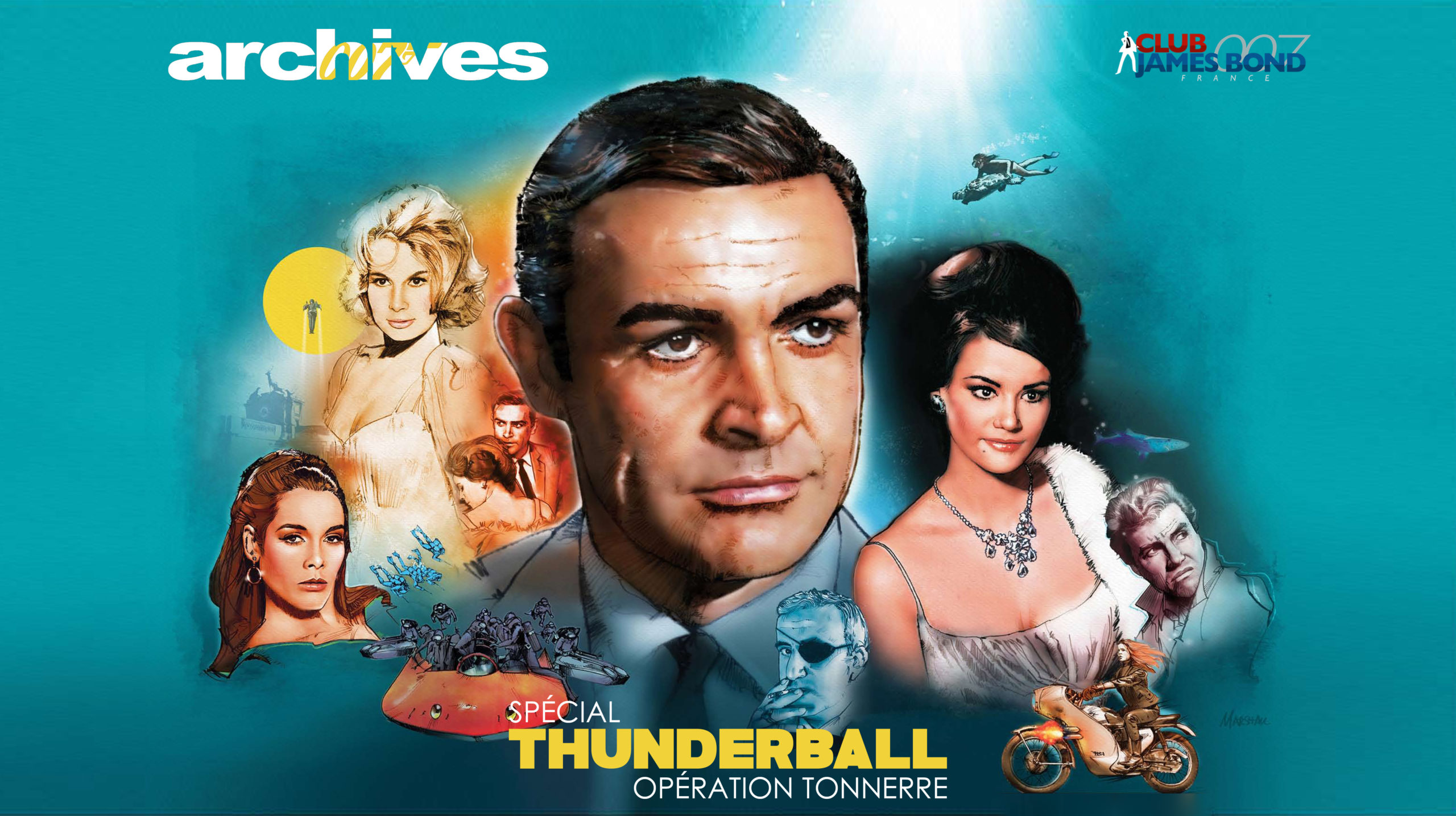 Archives 2020 : Thunderball à l'honneur