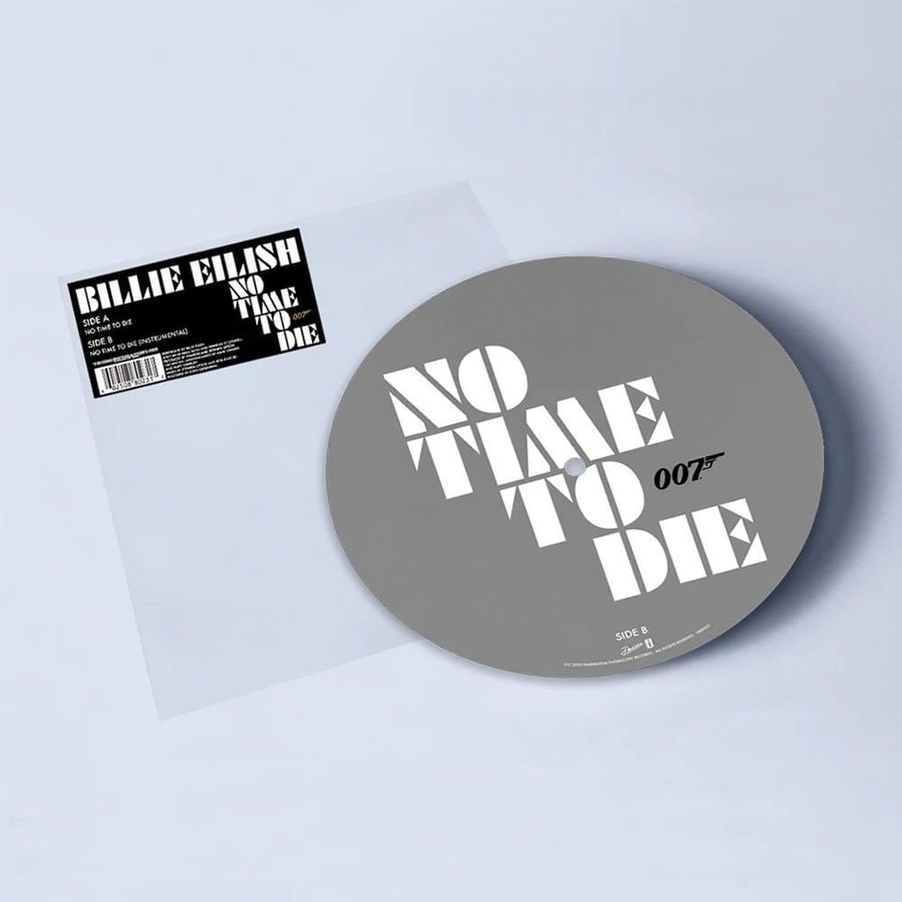 NO TIME TO DIE : Le single de Billie Eilish disponible en vinyle