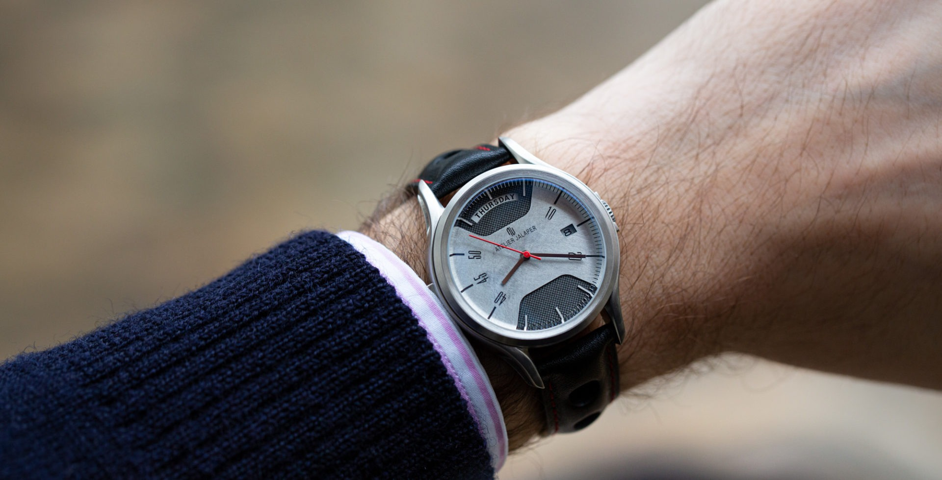 ATELIER JALAPER : fusion d'une montre et d'un mythe automobile