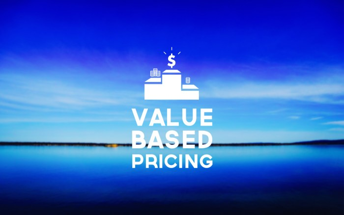Value-Based-Pricing