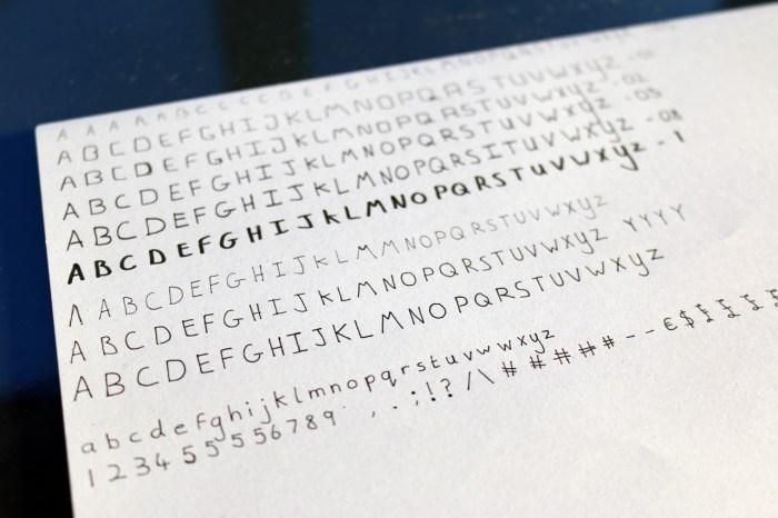 Font-Lettering