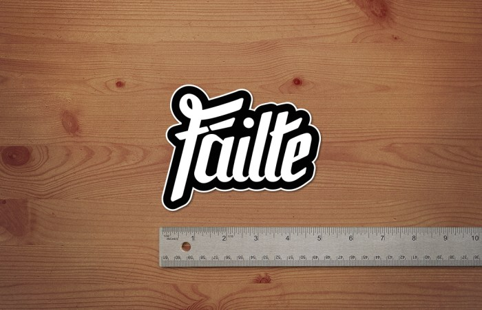 Failte-Sticker-Mockup-Image