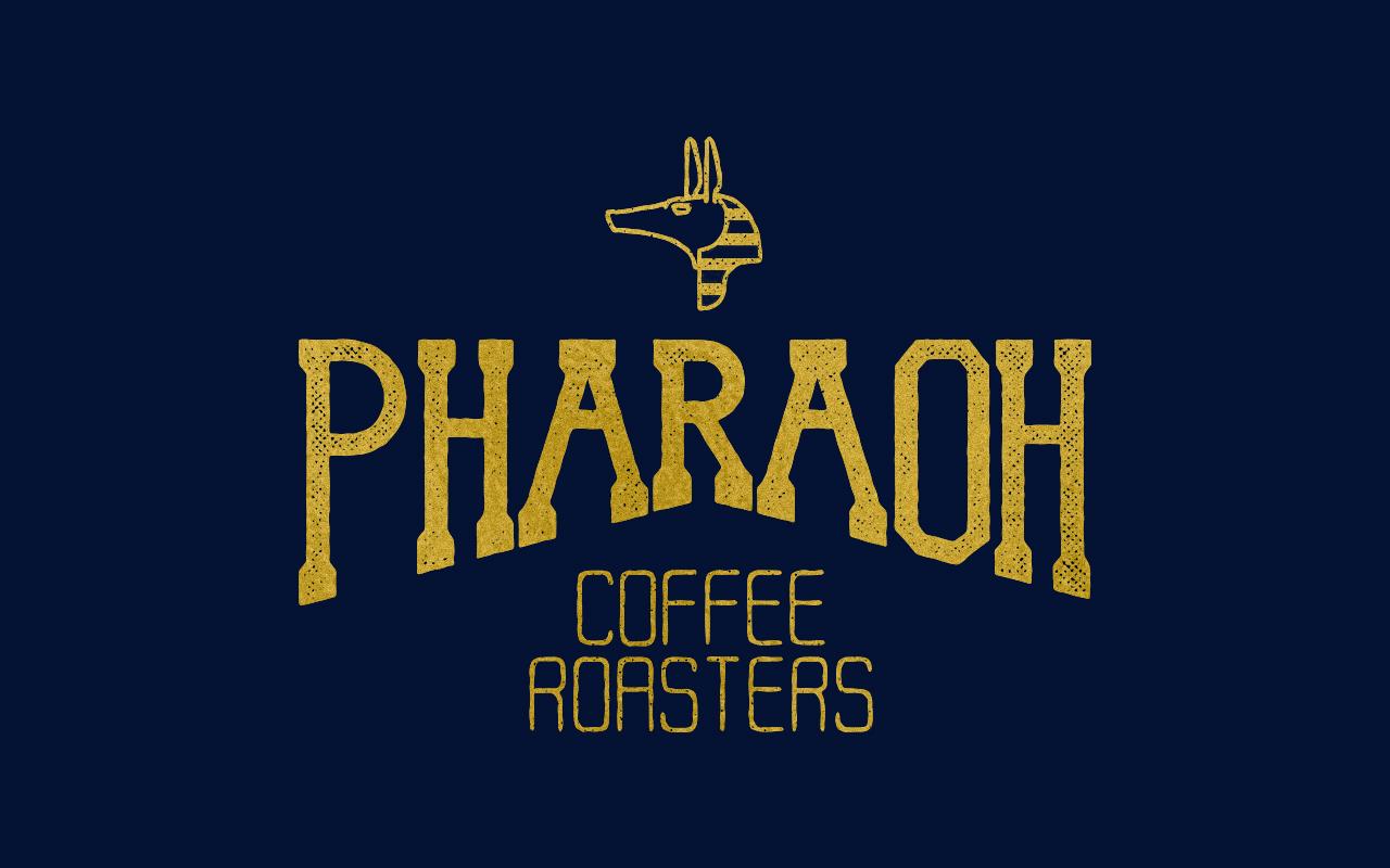 Pharaoh-Coffee-Roasters-Logo-Lettering-Branding