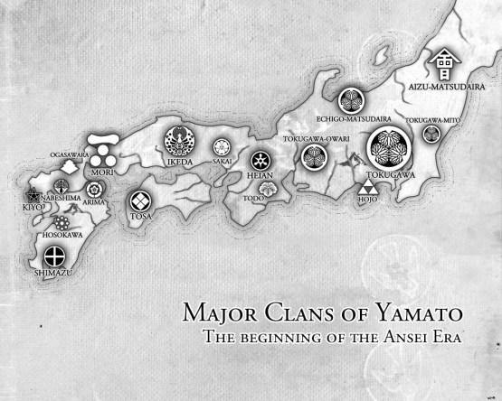 Major Clans of Yamato