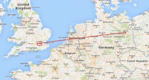 GPS logger track