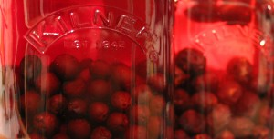 Beautiful red flavouring gin