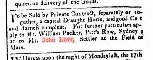 Sydney Gazette Saturday 23 June 1810