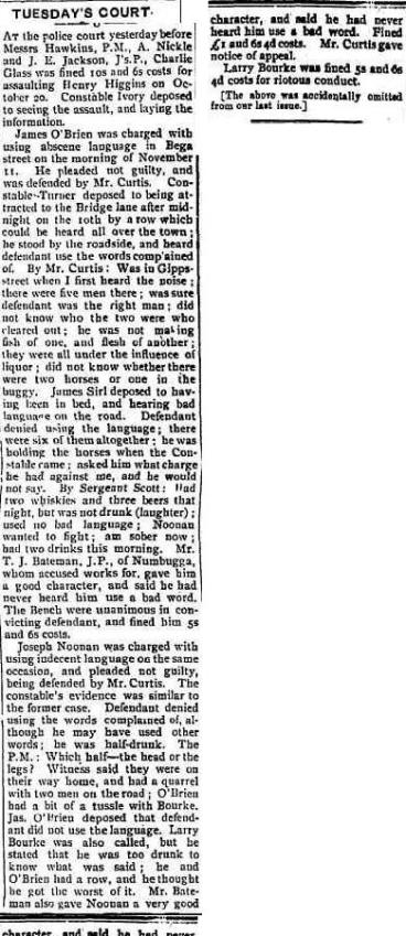 Southern Star (Bega, NSW : 1900 - 1923), Saturday 1 December 1906, page 4
