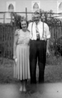Mum and Uncle Barney, presumably in the 1950s