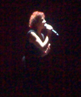 An Edith Piaf soundalike performs at the opening night party of the Sydney Film Festival 2007, where the feature film was La Vie En Rose.