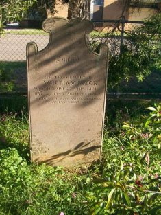 With thanks to Leanne Rae, here is a recent photograph (February 2008) of William's headstone.