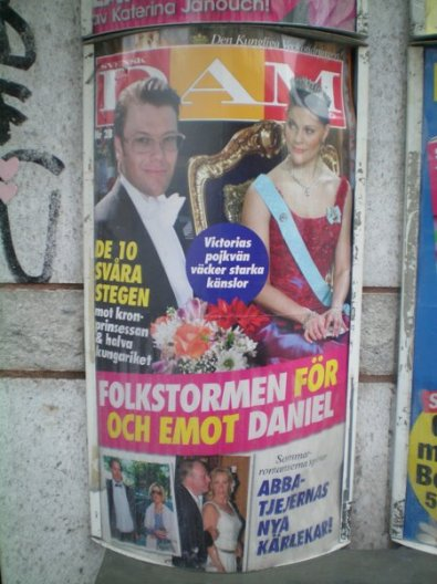 ABBA GIrl has a new love, according to this Swedish tabloid.