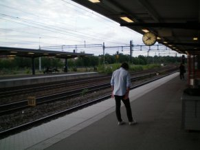 Not much happens at Älvsjö
