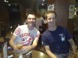 Mikey Lynch and Patrick Blake