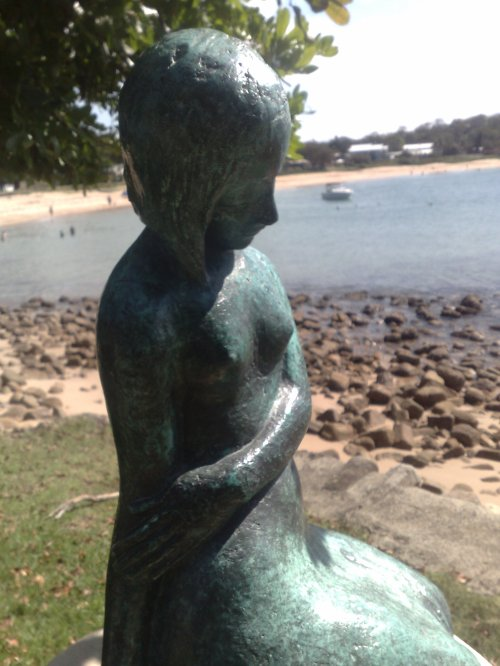 Bundeena Beach Statue