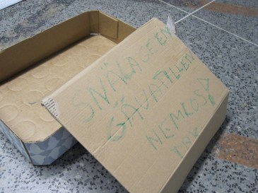 Please give to the homeless. Thankyou.