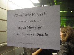 Charlotte Perrelli is sick, replaced by Jessica and Anna