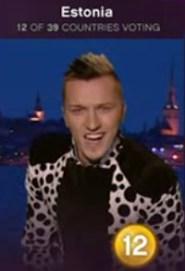 Eurovision countries deliver votes - Estonia