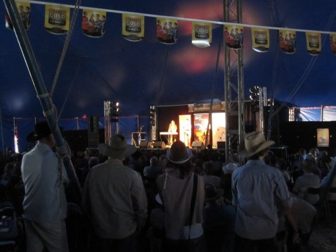 Audience watches Saturday Night Country live show at Gympie Muster