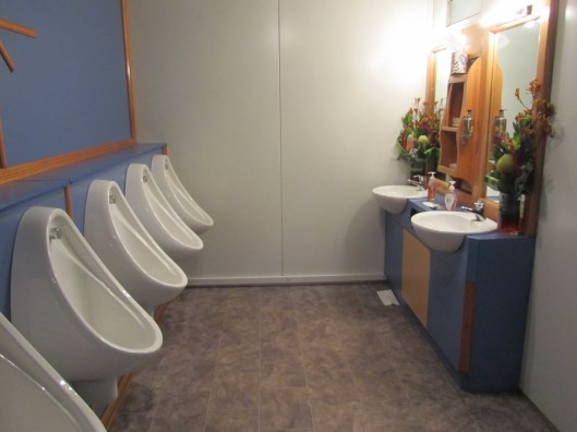 Seriously, the worlds cleanest portaloo. And it smelled beautiful too.