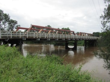 Double Bridge, as viewed from North Lismore