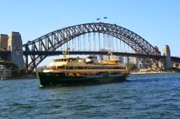 Sydney Harbour Bridge, as viewed from Opera Bar