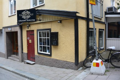 One of the restaurants featured in the book, though it never featured in the movies
