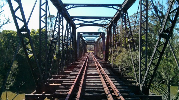 Railway Bridge between South and North Lismore