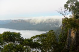 Dawn in the Blue Mountains