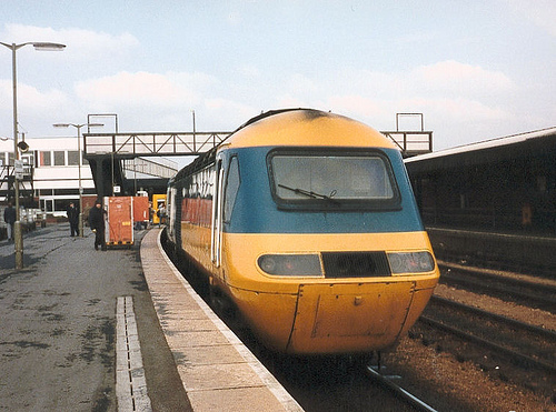 HST at Gloucester Station