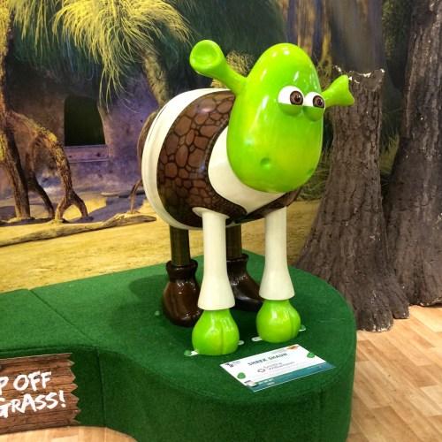 2. Shrek Shaun