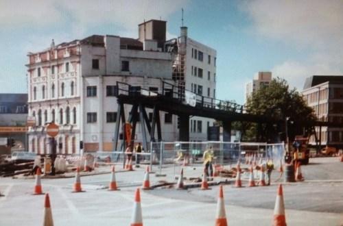 Demolition of Temple Way Flyover